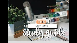 THE ULTIMATE STUDY SURVIVAL GUIDE | studycollab: alicia