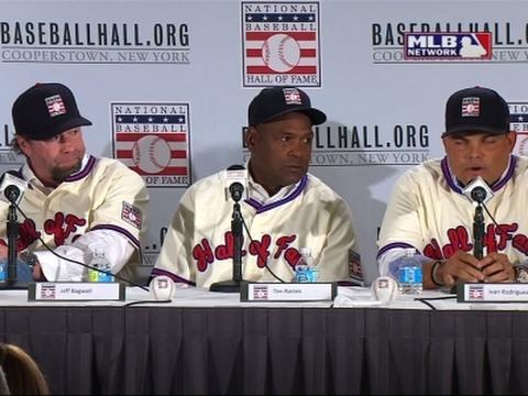 Baseball Hall Of Fame, Class Of 2017