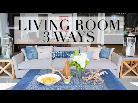 3 Easy Ways to Update Your Living Room or Outdoor Area Decor