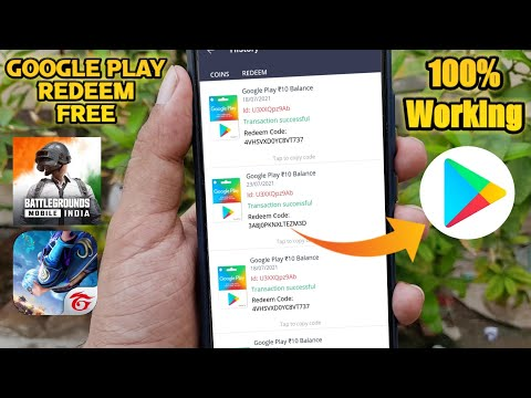 How to get Google play Redeem Code free by playing games - Google play gift card Earning App