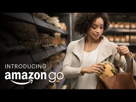 Amazon Go opened in Manhattan.