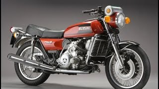 History of  Bike - Suzuki re5 rotary wankel