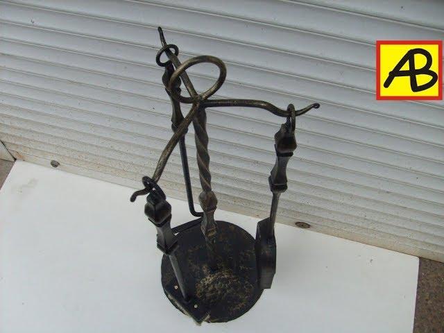 Каминный набор и ковка металла