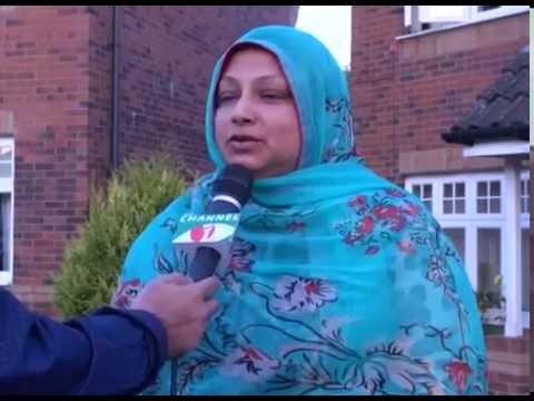 Glasgow Bangladesh Association- Mr & Mrs Sarwar With Channel i