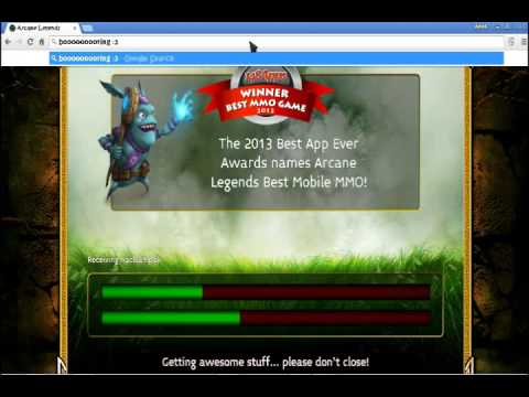 Installing Arcane Legend On Google Chrome