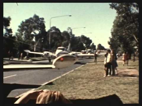 Canberra Day Parade 1972 and 1975
