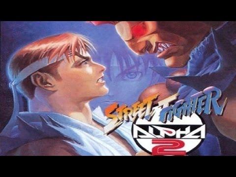 Street Fighter Alpha 2 Gameplay (PS Vita)