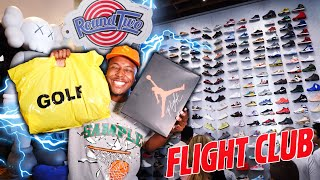 LA SNEAKER SHOPPING SPREE AT FLIGHT CLUB, ROUND TWO, & MORE! THEY SAID I COULDN'T EM FOR RETAIL!