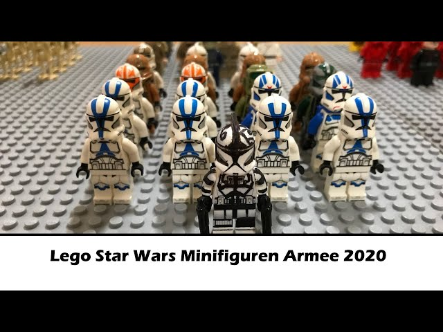 Silvesterspecial!!!: Meine Lego Star Wars Minifigurenarmee 2020/ Deutsch/German
