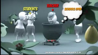Holiday's over whatsapp status| students vs teachers|funny trolls