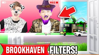 Can We Use TIK TOK FILTERS To RAISE A BABY In ROBLOX BROOKHAVEN!? (BROOKHAVEN RP!)