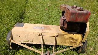 Mott Flail Mower Cutting