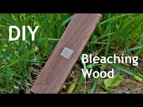 How to Bleach Wood.