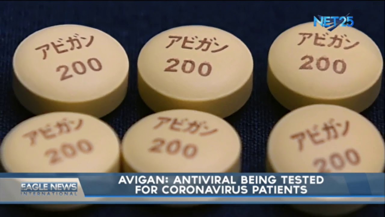 Avigan: Antiviral being tested for coronavirus patients