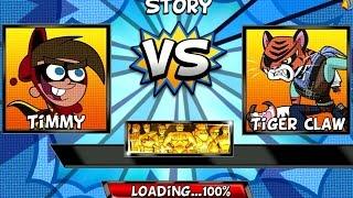 Super Brawl 4 - TIMMY (Nickelodeon Games)