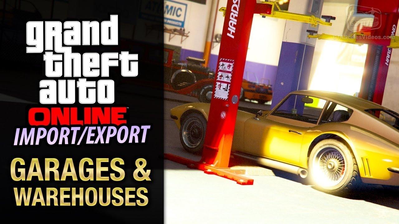 Gta V How To Buy A Car Warehouse