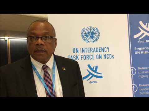 John Boyce, Hon. Minister of Health Barbados