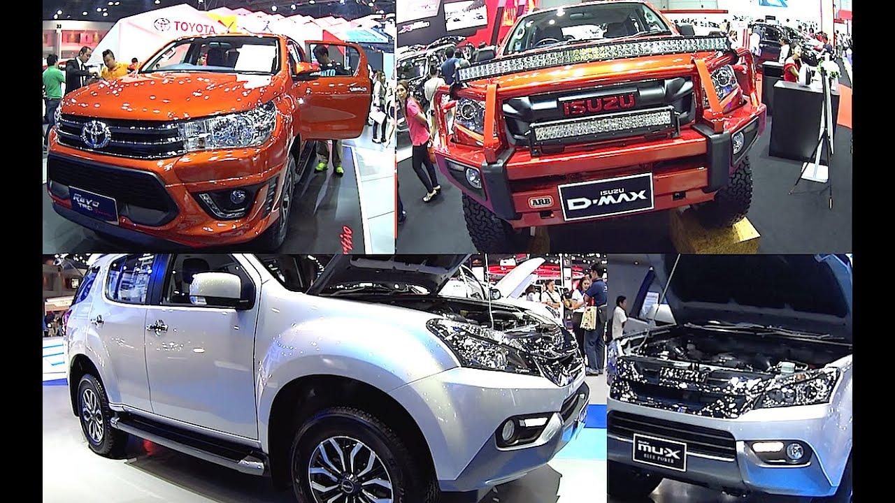 All New Toyota Hilux REVO TRD VS Isuzu MUX - All new toyota models