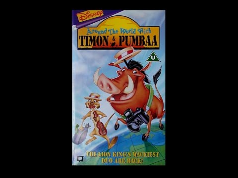 Digitized opening to Around The World with Timon & Pumbaa (UK VHS)