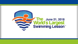 2018 World's Largest Swimming Lesson Event...