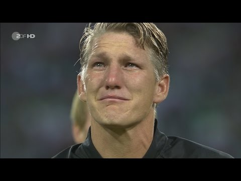 Bastian Schweinsteiger LAST MATCH for Germany vs Finland Home HD 720p (31/08/2016) by 1900FCBFreak