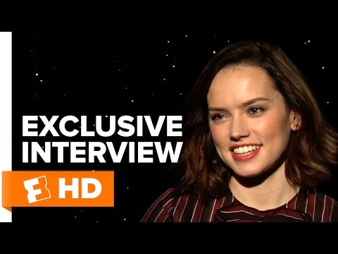 Star Wars: The Force Awakens - Exclusive Daisy Ridley Interview (2015) HD