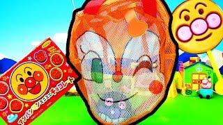 アンパンマンおもちゃアニメ ❤ ドキンちゃんのミニリュック animation Anpanman Toy