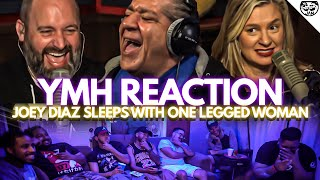 Reacting to Joey Diaz Sleeps With One Legged Woman | Your Moms House | OFC / YMH