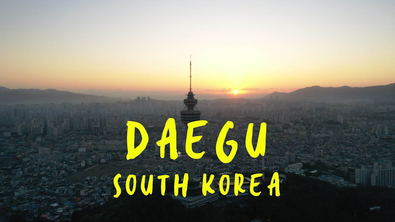 Daegu- the 4th largest city in South Korea | Cinematic Aerial View | 대구시, 대한민국 2019 【4K】