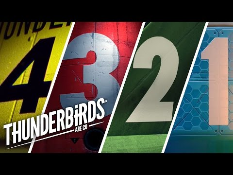 International Rescue Launch All Thunderbirds | Thunderbirds Are Go Clip