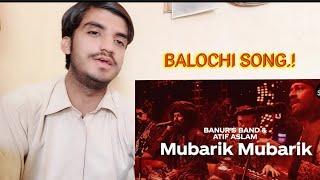 Reaction On Mubarik Mubarik | Coke studio Season12 | Atif Aslam & Banur's Band.