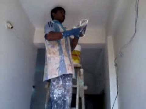 How To Apply Asian Paints Acrylic Wall Putty on Your Wall Video