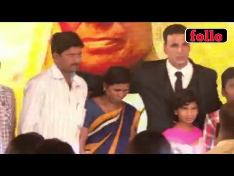 Akshay Stands Up For A Cause!