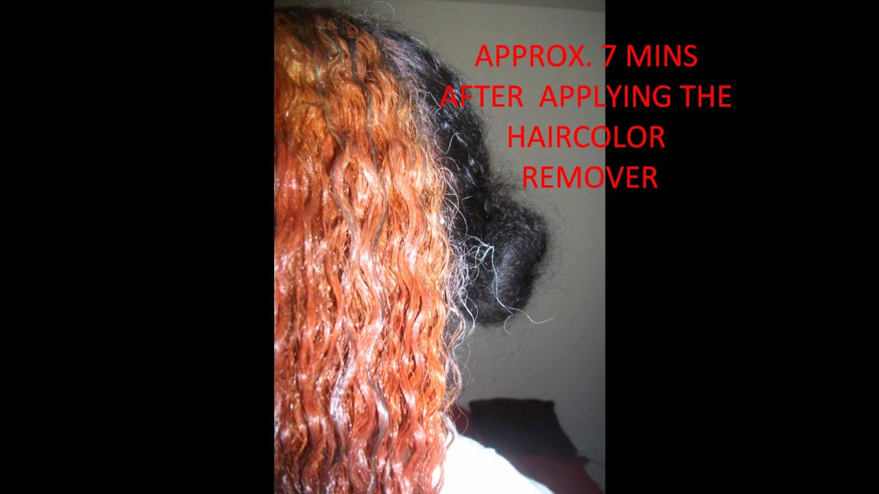 loreal hair color remover review wmv youtube