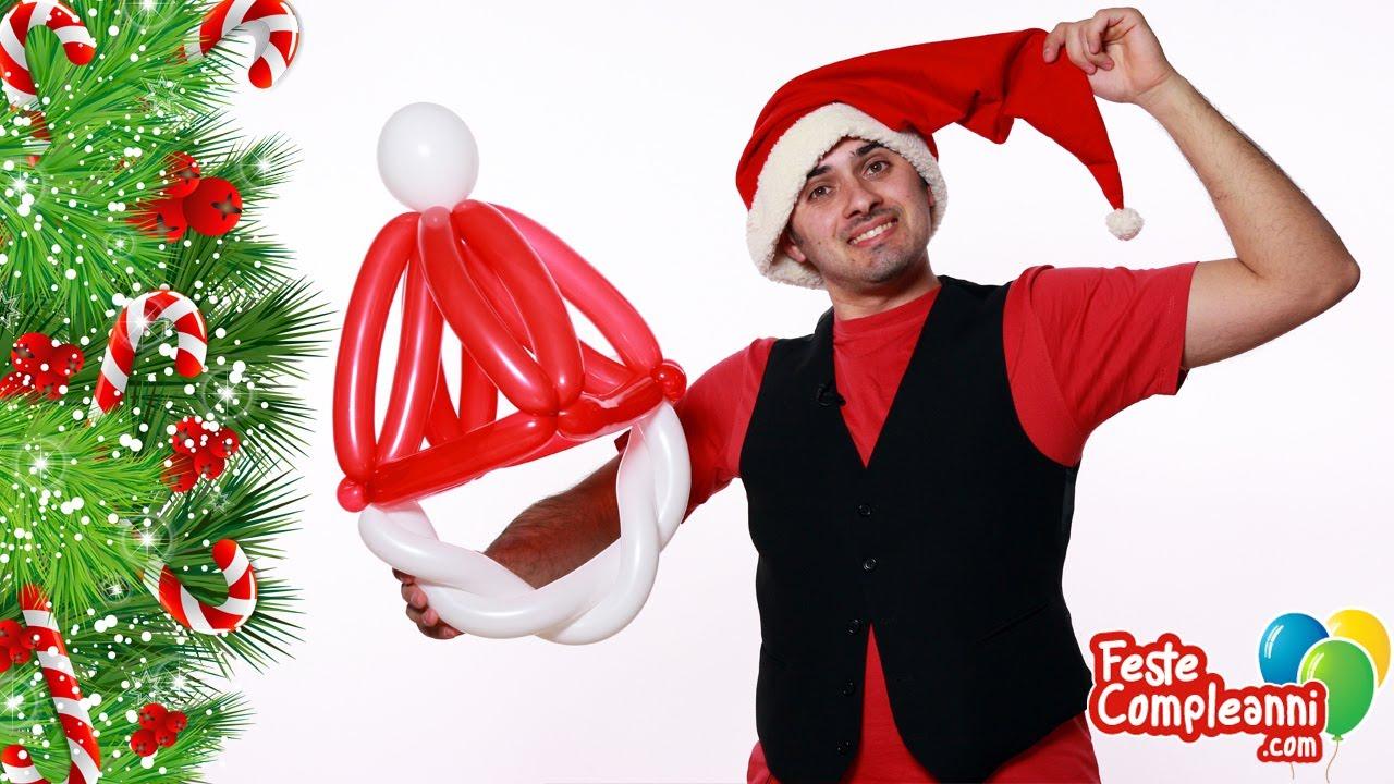 Cappello Babbo Natale - Balloon Santa Claus Hat - Tutorial 46 - Feste  Compleanni - YouTube 6a91203252f2