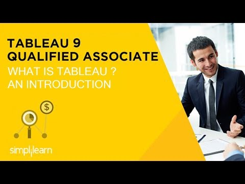 Introduction To Tableau Certification Training | Simplilearn
