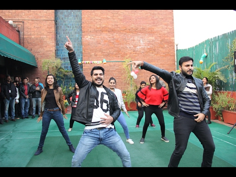 Best Dance ever, New Year Flash Mob (TERI,IHC,New Delhi)👍