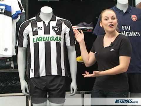 Netshoes - Camisa Fila Botafogo I 2009 s nº - YouTube ef9155e88b038