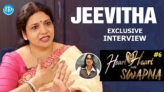 Jeevitha Rajasekhar Exclusive Interview - Heart To Heart With Swapna #6 || #268