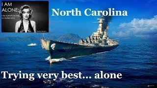 Nord Carolina - Trying very best Alone..
