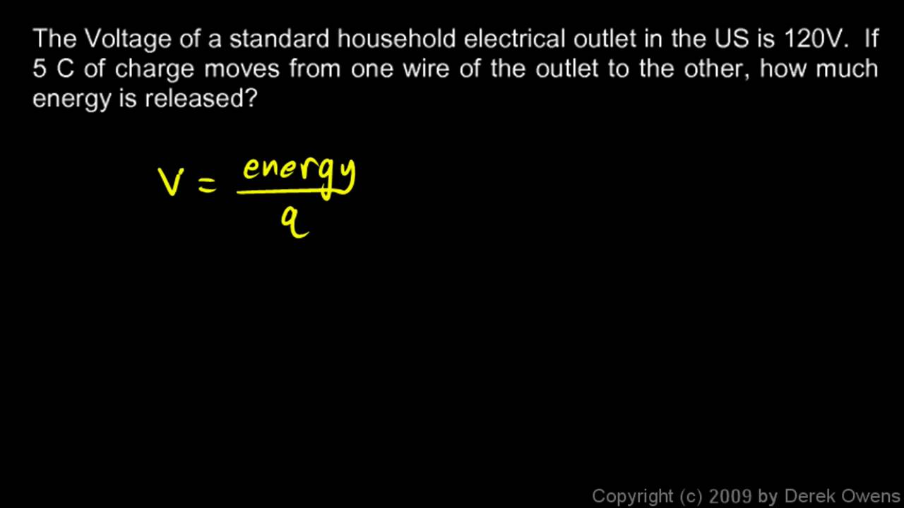 Physics 12.4.2b - Voltage - YouTube