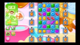 Candy Crush Jelly Saga Level 244 - NO BOOSTERS