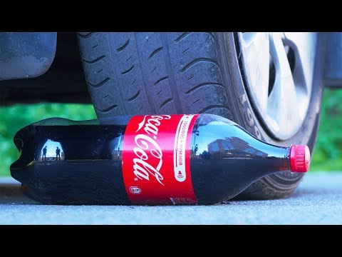 Thumbnail: EXPERIMENT CAR vs COCA COLA