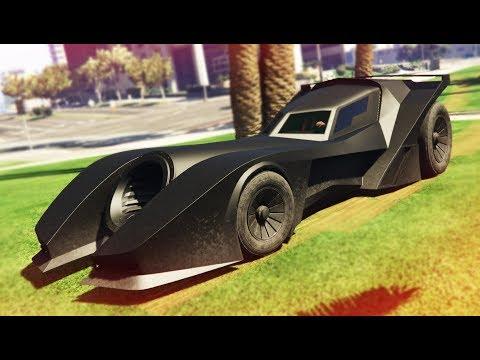 "INSANE NEW ""BATMOBILE"" CAR STUNTS! - (GTA Online DLC)"