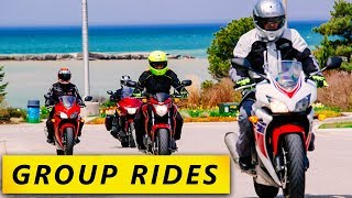 7 Group Ride Dudes You Will Meet