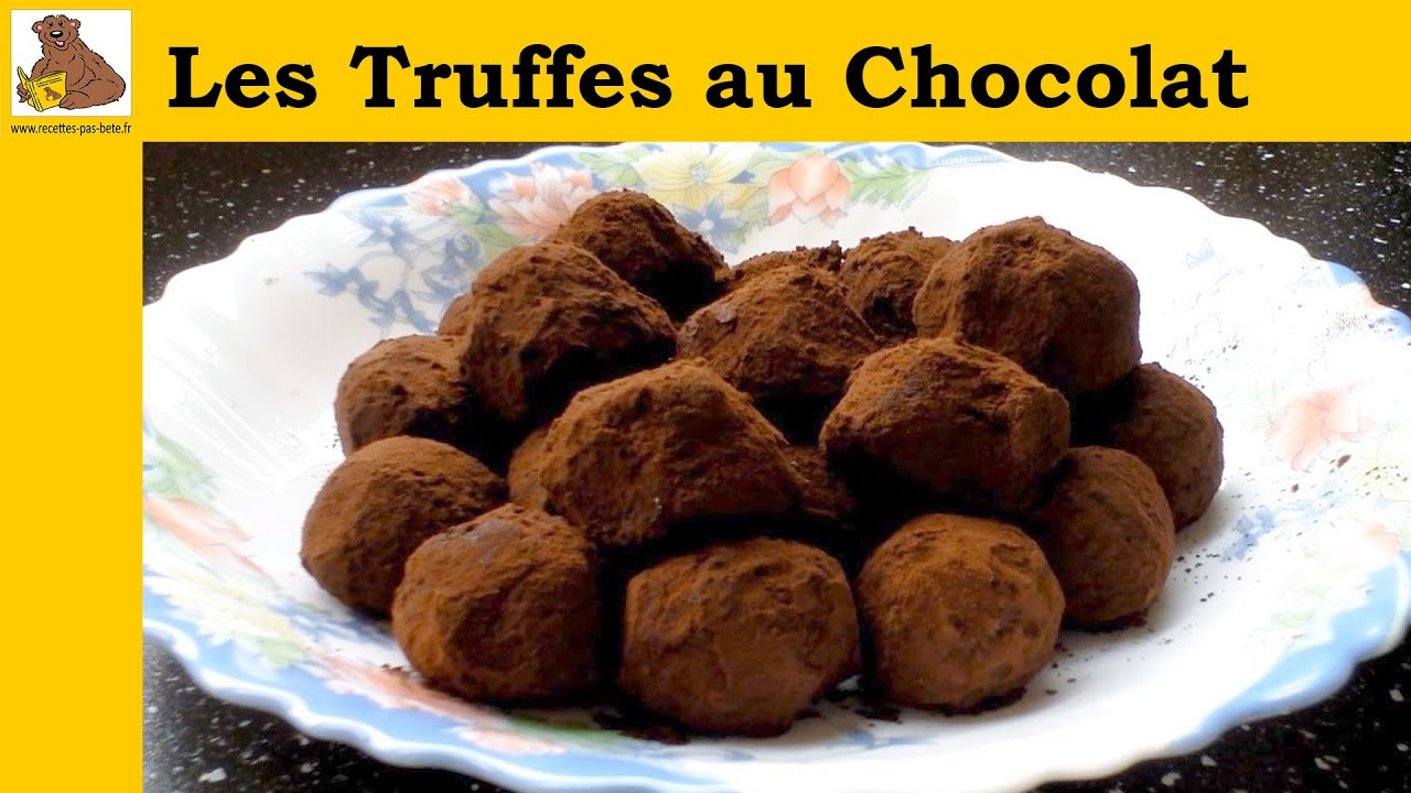 les truffes au chocolat recette rapide et facile hd youtube. Black Bedroom Furniture Sets. Home Design Ideas