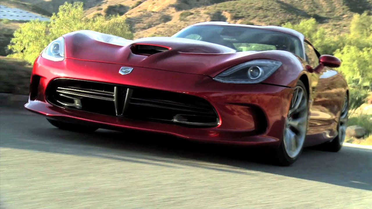 All New Dodge Viper Srt Gts 2013 Driving Youtube