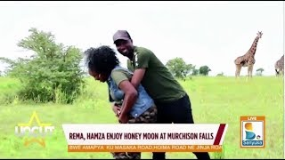 Rema and Hamza Enjoy Honey Moon at Murshison Falls| Uncut
