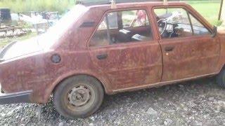 Restaurování laku Škoda 120