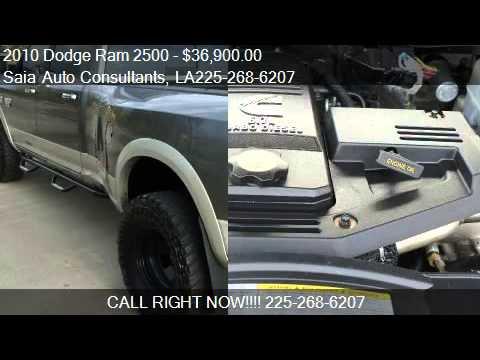2010 Dodge Ram 2500 Laramie 4WD DRW - 6.7L, Clean - for sale